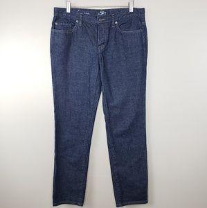 Ann Taylor LOFT | Dark Wash Boyfriend Jeans